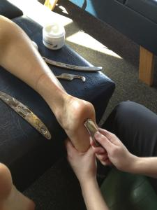 Plantar fasciitis is a pain on the bottom of the foot. It is a condition that normally does not respond well to traditional methods of treatment.